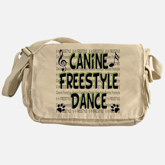 K9 Freestyle Dance Messenger Bag