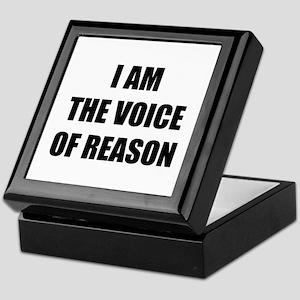 I am the voice of reason Keepsake Box