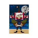 Cute Pirate and Ship Magnet