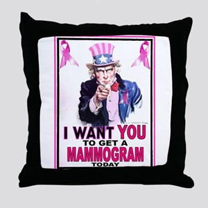 Uncle Sam Throw Pillow