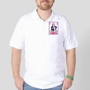 Uncle Sam Golf Shirt