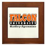 Falcon University Framed Tile