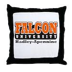 Falcon University Throw Pillow