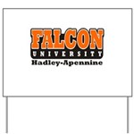 Falcon University Yard Sign