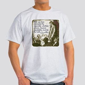 Sherlock Holmes Truth Light T-Shirt