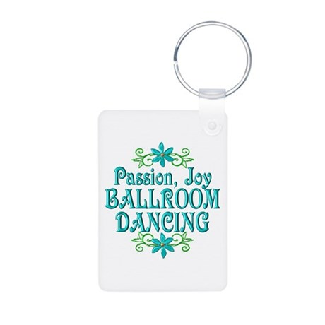 Ballroom Joy Aluminum Photo Keychain