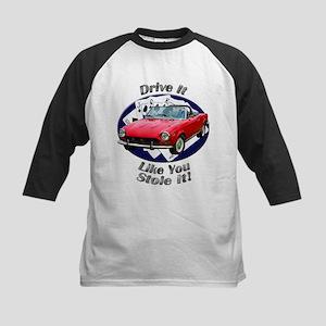 Fiat 124 Spider Kids Baseball Jersey