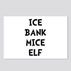 Ice Bank Mice Elf Postcards (Package of 8)