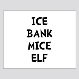 Ice Bank Mice Elf Small Poster