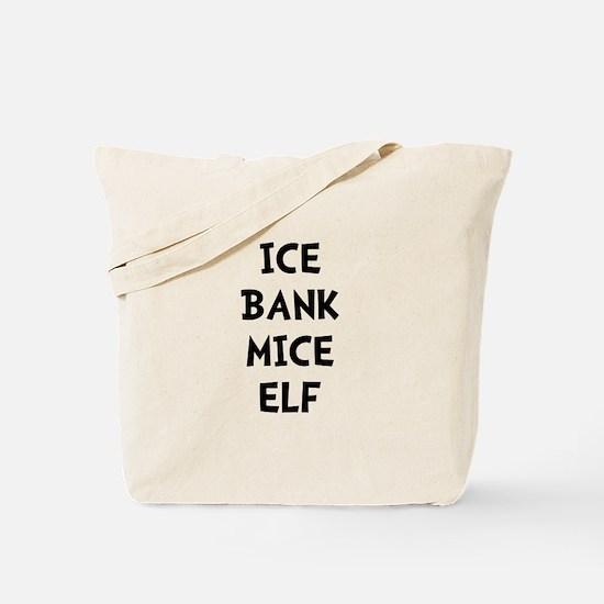 Ice Bank Mice Elf Tote Bag