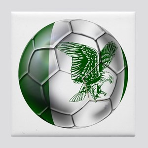 Nigeria Football Tile Coaster