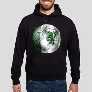 Nigeria Football Hoodie (dark)