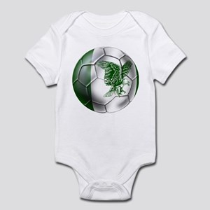 Nigeria Football Infant Bodysuit