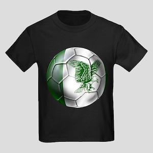Nigeria Football Kids Dark T-Shirt