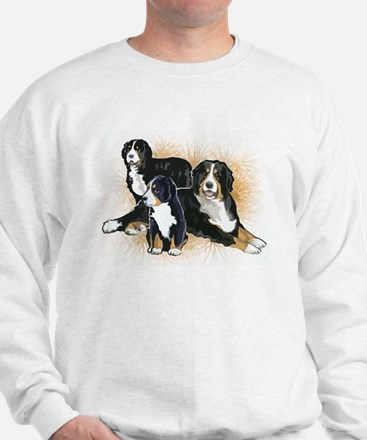 Bernese Mountain Dog Trio Jumper