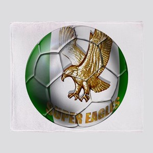 Super Eagles Football Throw Blanket