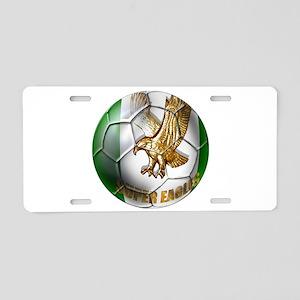 Super Eagles Football Aluminum License Plate