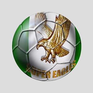 "Super Eagles Football 3.5"" Button"