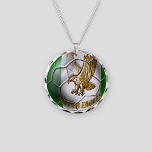 Super Eagles Football Necklace Circle Charm