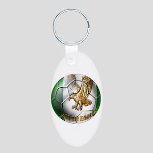Super Eagles Football Aluminum Oval Keychain