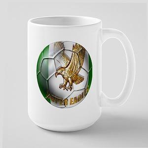 Super Eagles Football Large Mug