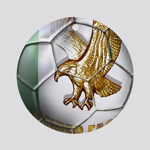 Super Eagles Football Ornament (Round)