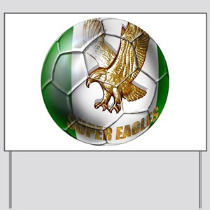 Super Eagles Football Yard Sign