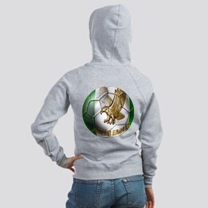 Super Eagles Football Women's Zip Hoodie