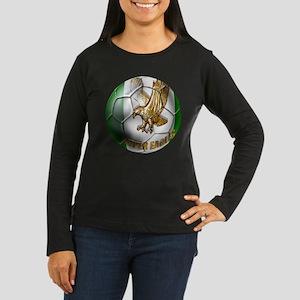 Super Eagles Football Women's Long Sleeve Dark T-S