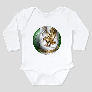 Super Eagles Football Long Sleeve Infant Bodysuit