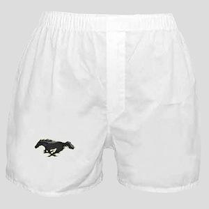 Mustang Running Horse Boxer Shorts