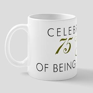 Celebrating 75 Years Mug