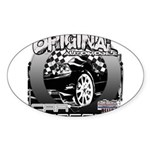 2012 Musclecars Sticker (Oval 50 pk)