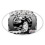 2012 Musclecars Sticker (Oval)