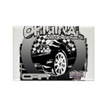 2012 Musclecars Rectangle Magnet