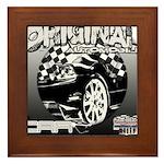 2012 Musclecars Framed Tile