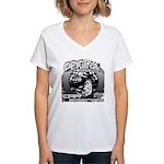 2012 Musclecars Women's V-Neck T-Shirt