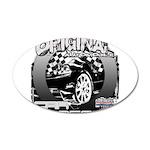 2012 Musclecars 22x14 Oval Wall Peel
