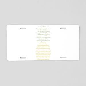Pineapple Aluminum License Plate