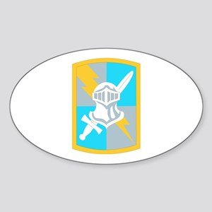SSI-513TH MILITARY INTELLIGENCE BDE Sticker (Oval)