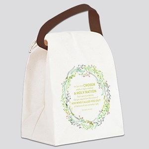 1 Peter 2:9 Canvas Lunch Bag