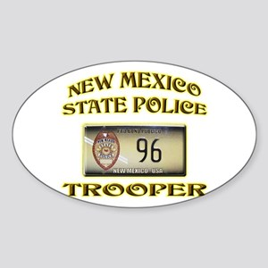 New Mexico State Police Sticker (Oval)