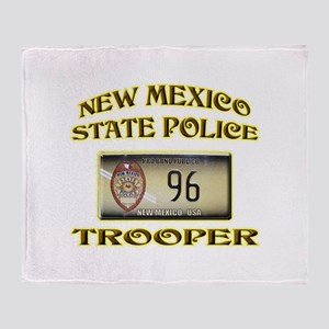 New Mexico State Police Throw Blanket
