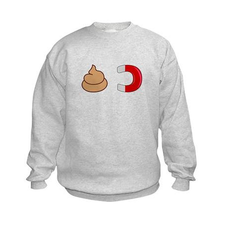 Shit Magnet Kids Sweatshirt