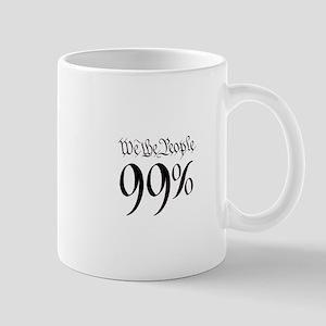 we the people 99% small Mug