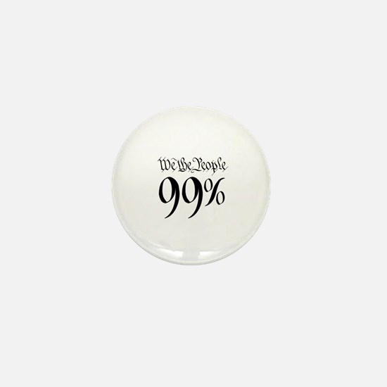 we the people 99% small Mini Button