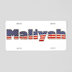 American Maliyah Aluminum License Plate