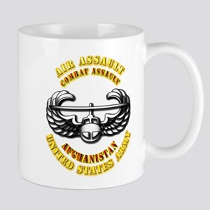Emblem - Air Assault - Cbt Aslt - Afghanistan Mug