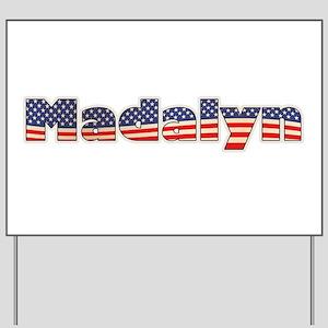 American Madalyn Yard Sign