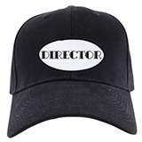 Director Baseball Cap with Patch